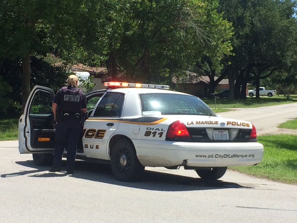 La Marque police surround house after apparent prank call