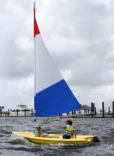 Sailing provides outdoor time, health benefits for children