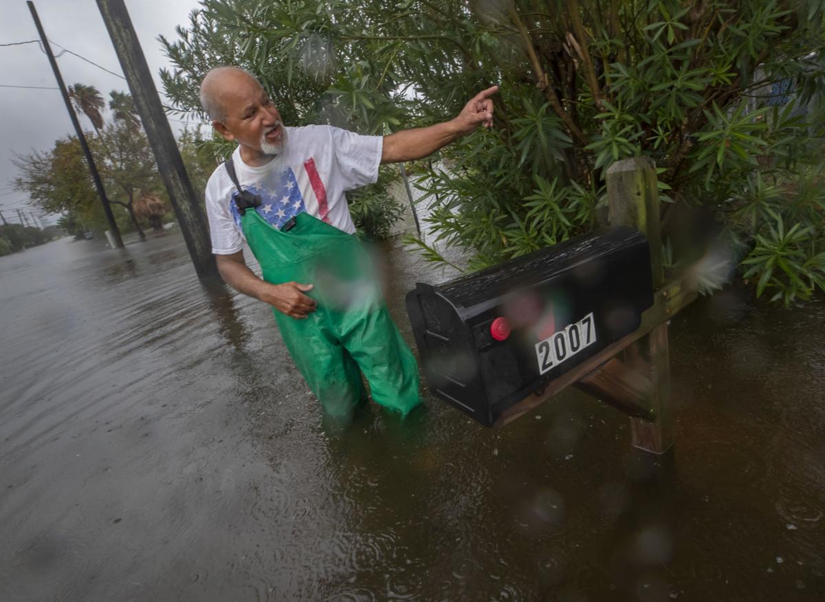 Tropical Storm Beta-Galveston