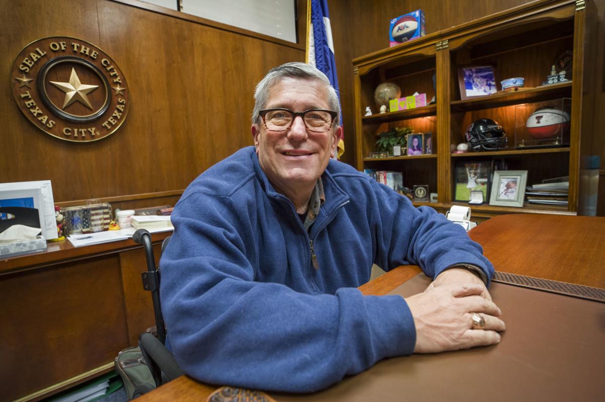 Texas City Mayor Matthew Doyle