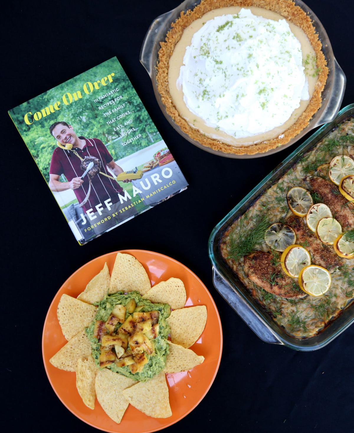 Jeff Mauro's cookbook re-creates recipes, fun from family gatherings