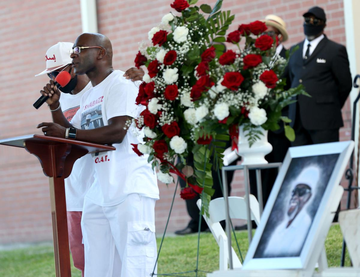 Shabazz remembered at memorial service