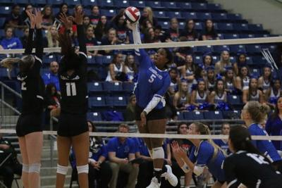 Clear Springs vs George Ranch volleyball