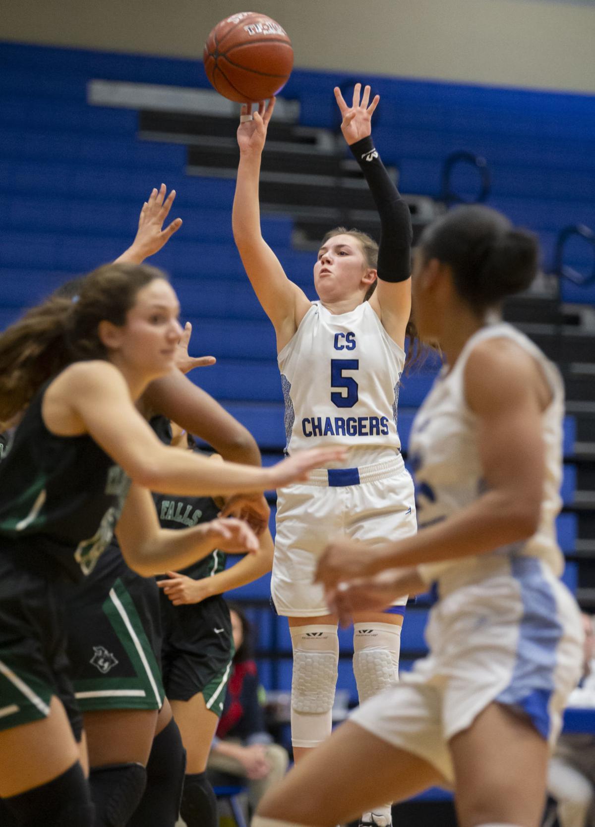 Clear Springs vs Clear Falls Girls Basketball