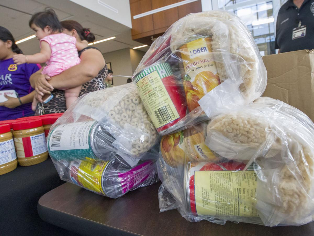 Police fight hunger with summer program