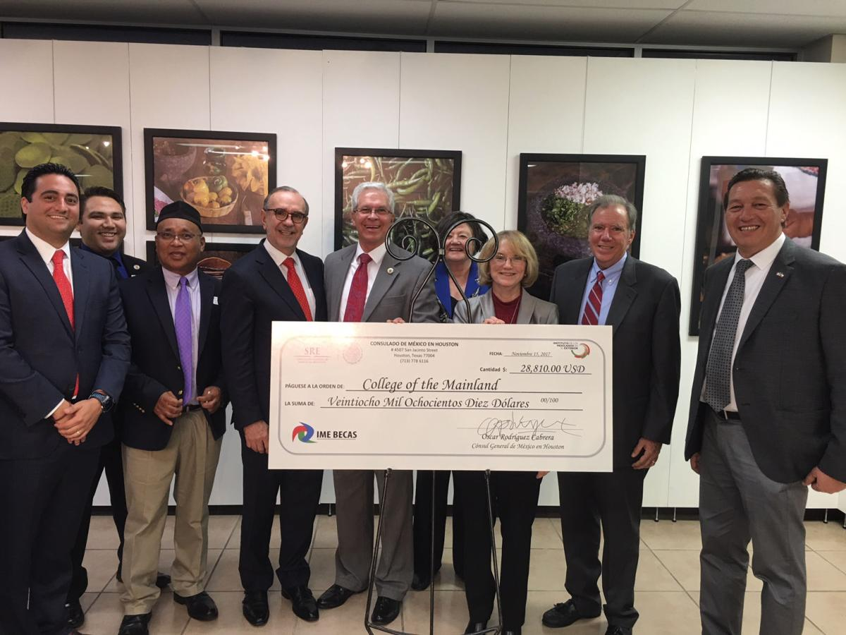 COM receives $30,000 from Mexican Consulate