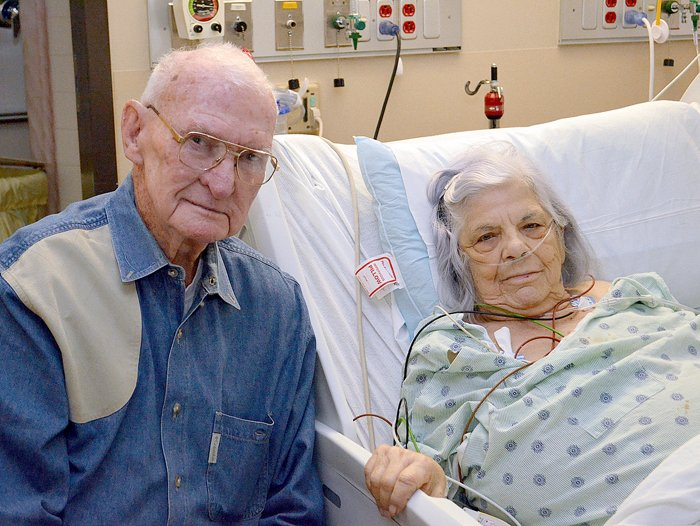 Couple's routine doctor visit saves wife's life | Health