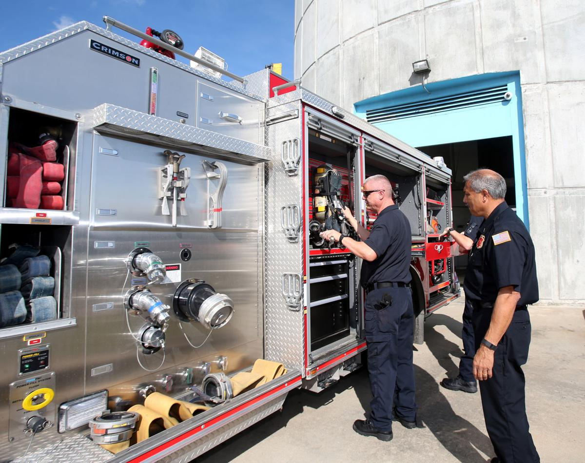 League City's temporary fire station improves city's fire protection rating