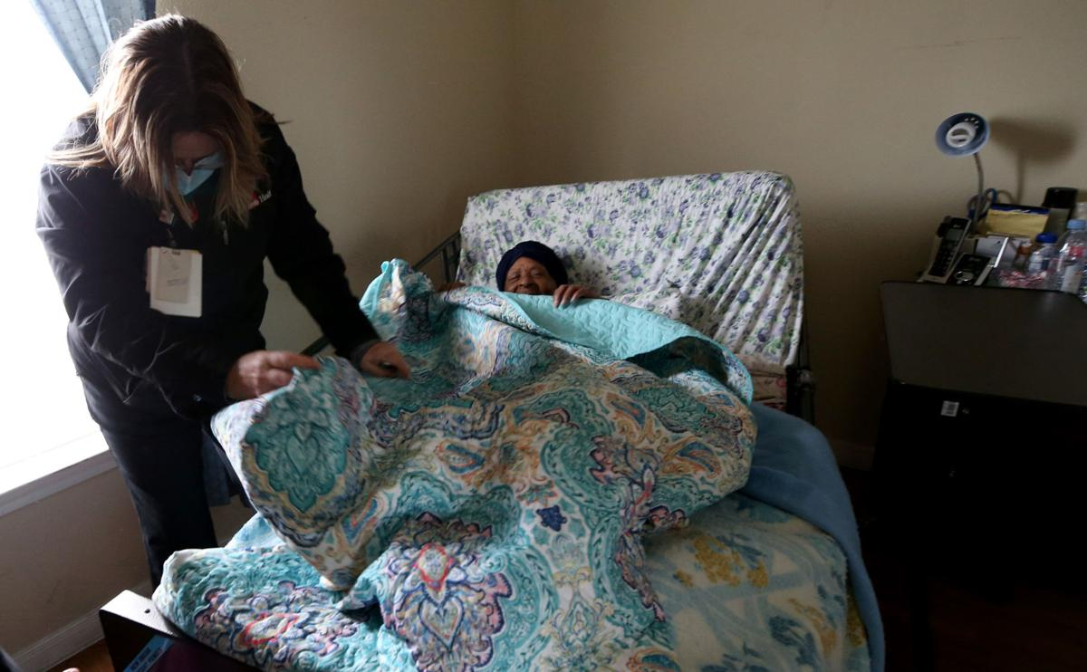 Nurses travel county for homebound patients
