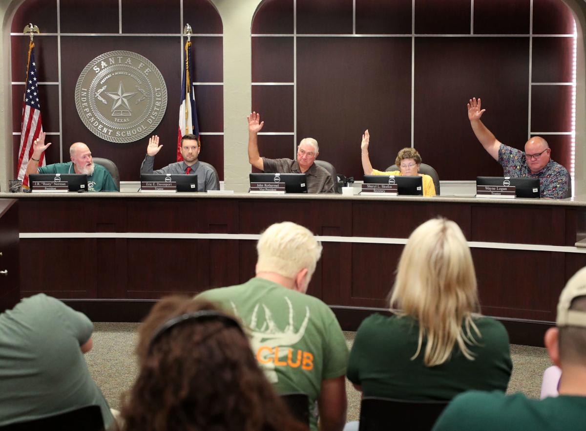 Santa Fe ISD board meeting