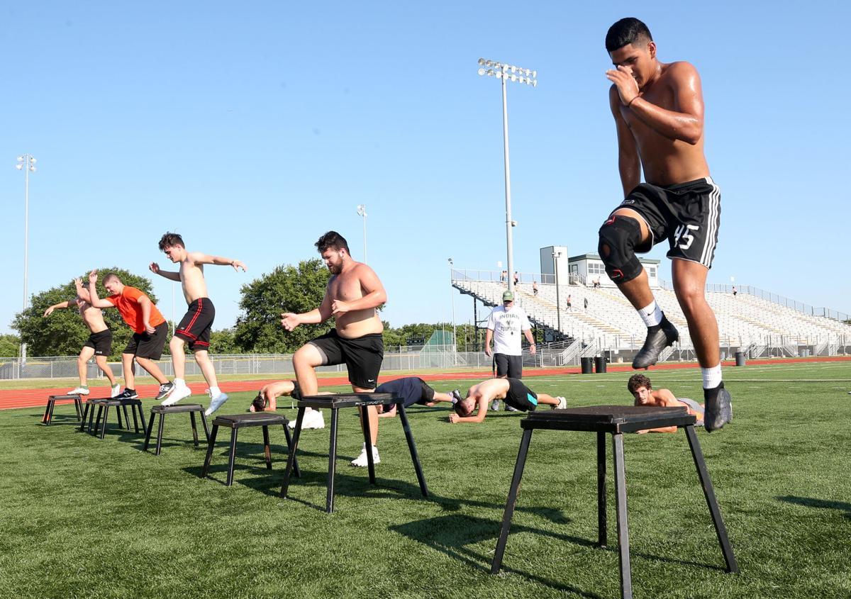Santa Fe athletes get in summer workouts