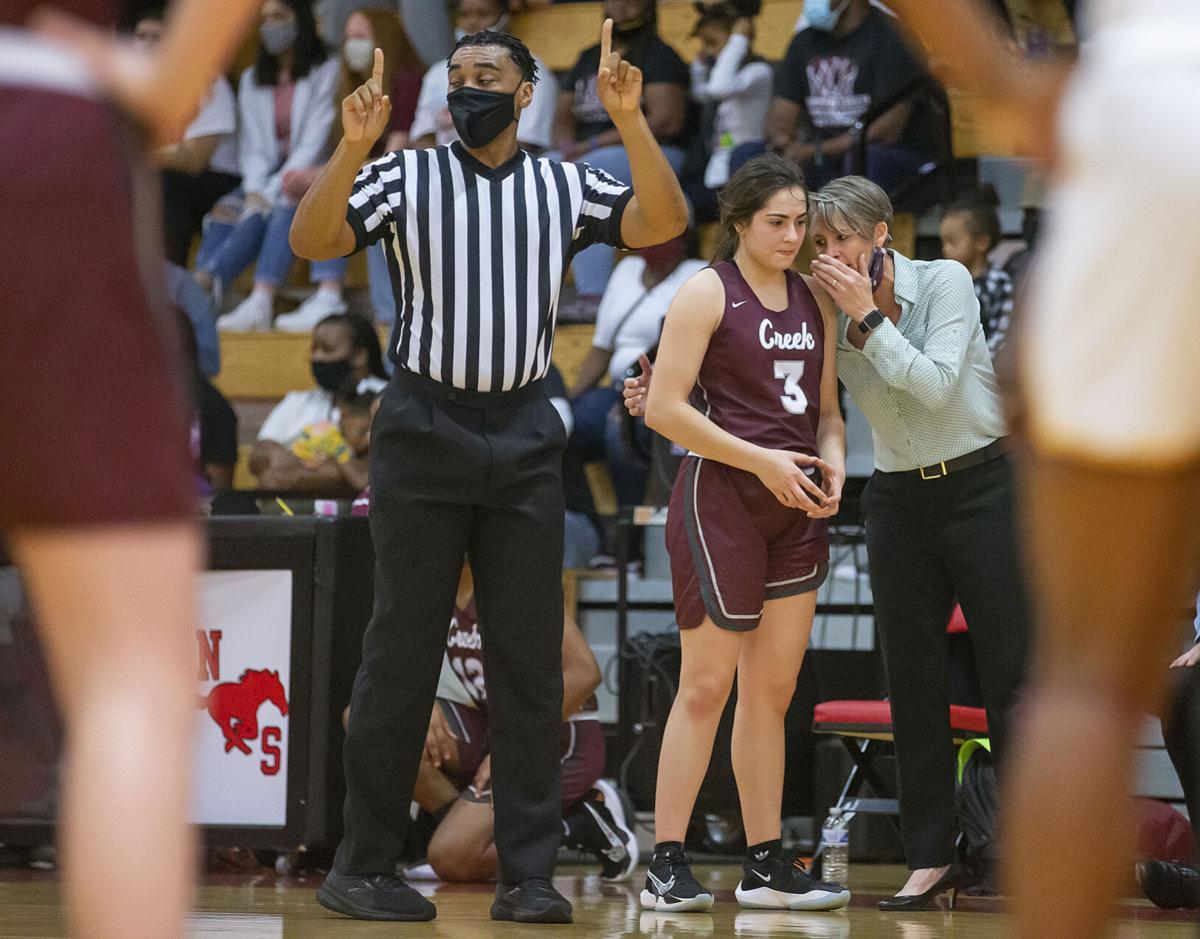 Clear Creek vs Summer Creek Girls Playoff Basketball