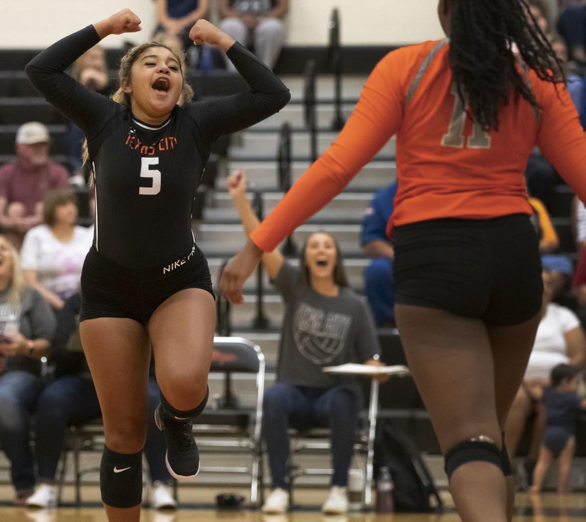 Texas City vs Alvin Volleyball
