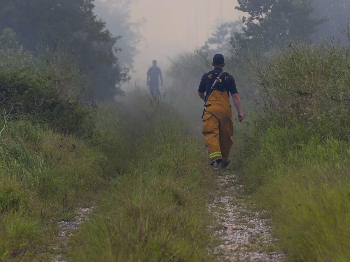 Galveston County Brushfire