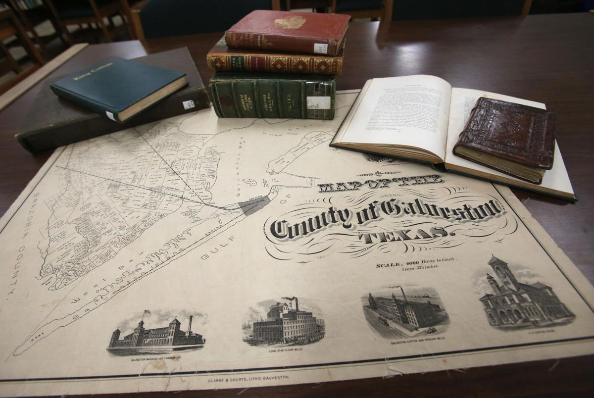 History of Galveston County
