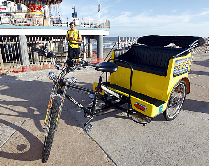 Ordinance puts isle pedicabs back in business