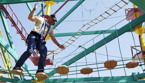 Moody Gardens Debuts New Ropes Zip Line Course Local