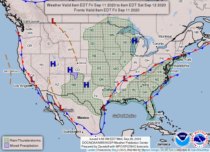 National Forecast Chart