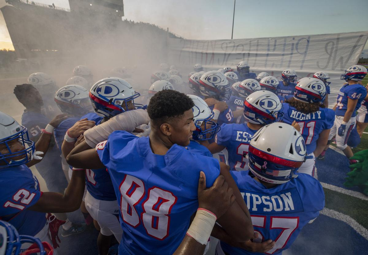Dickinson vs Clear Creek Football