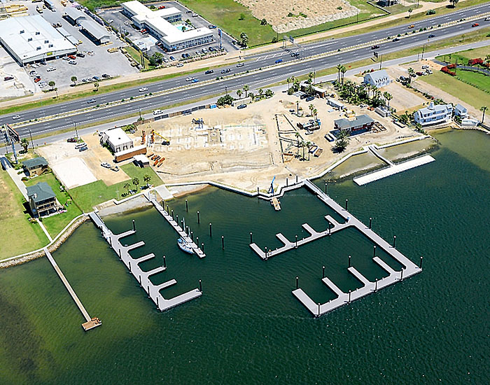 Sea Scout Base construction enters second phase