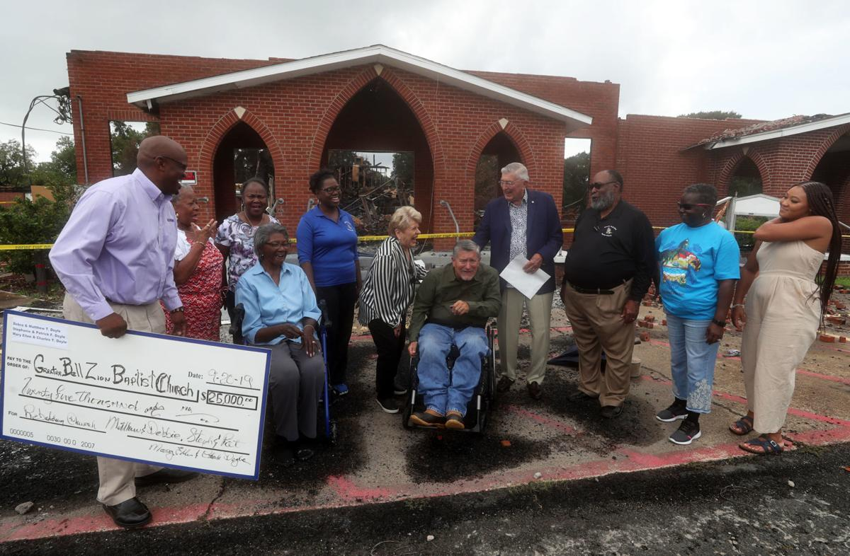 Greater Bell Zion donation