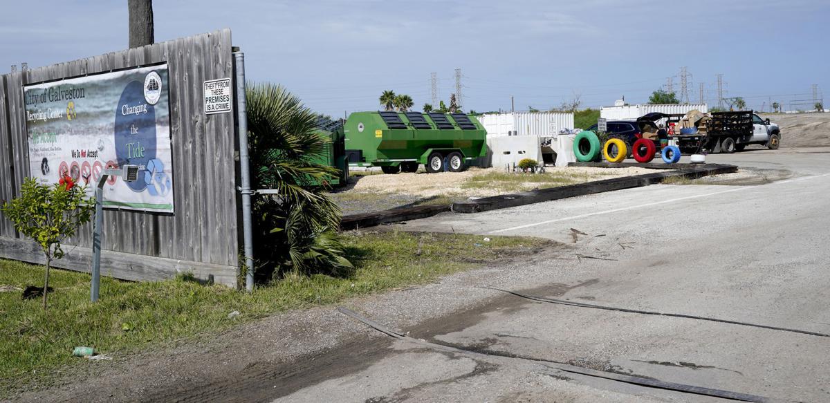 Galveston recycling center