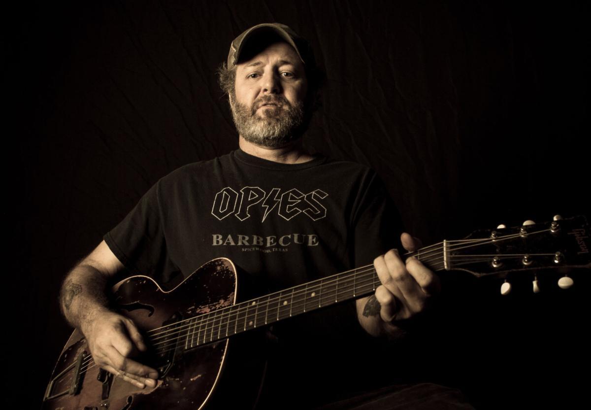 Scott Biram performing at Old Quarter