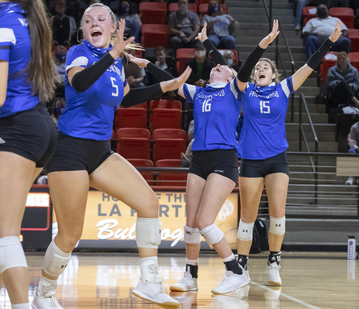 Friendswood vs Texas City Regional Quarterfinal Volleyball
