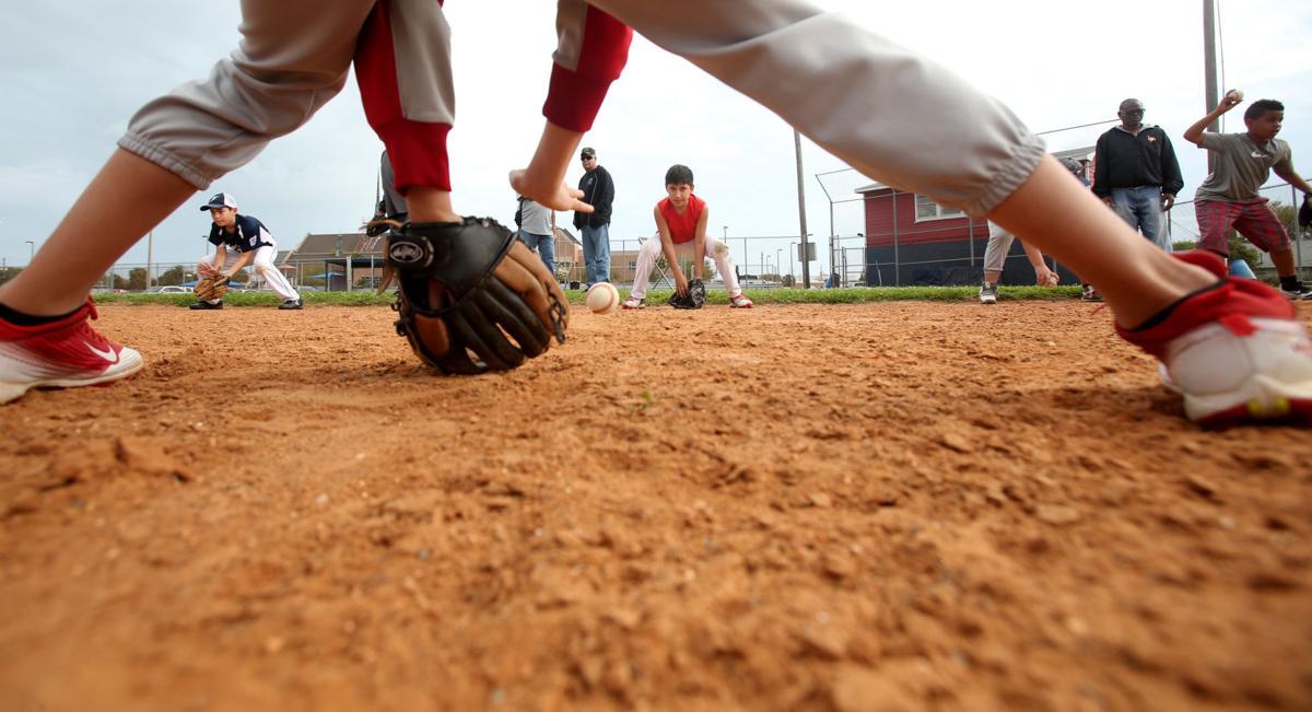 Fort Crockett Park baseball fields