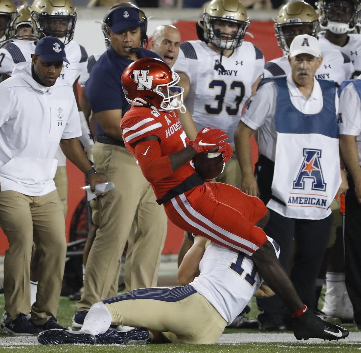 Houston Cougars vs. Navy Midshipmen