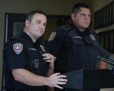 Galveston police officers rescue pregnant woman
