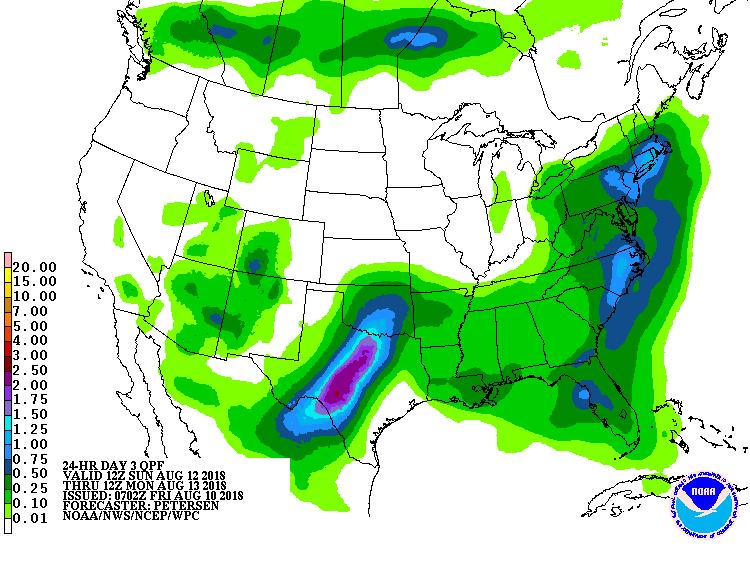 Day 3 precipitation outlook