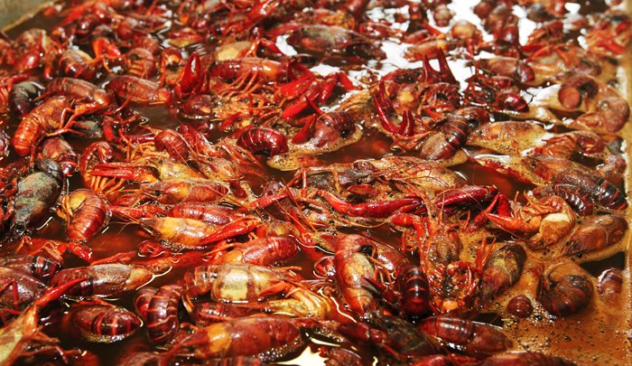 Demand for heaping plates of spicy crawfish grows each year