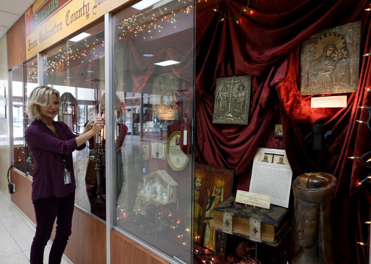 Seasonal celebration exhibt at County Museum