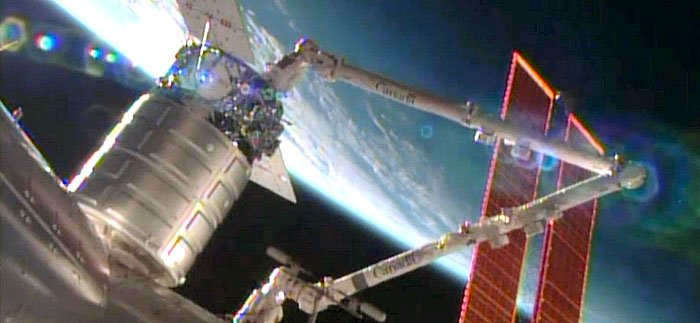 Cygnus, International Space Station have successful hook up