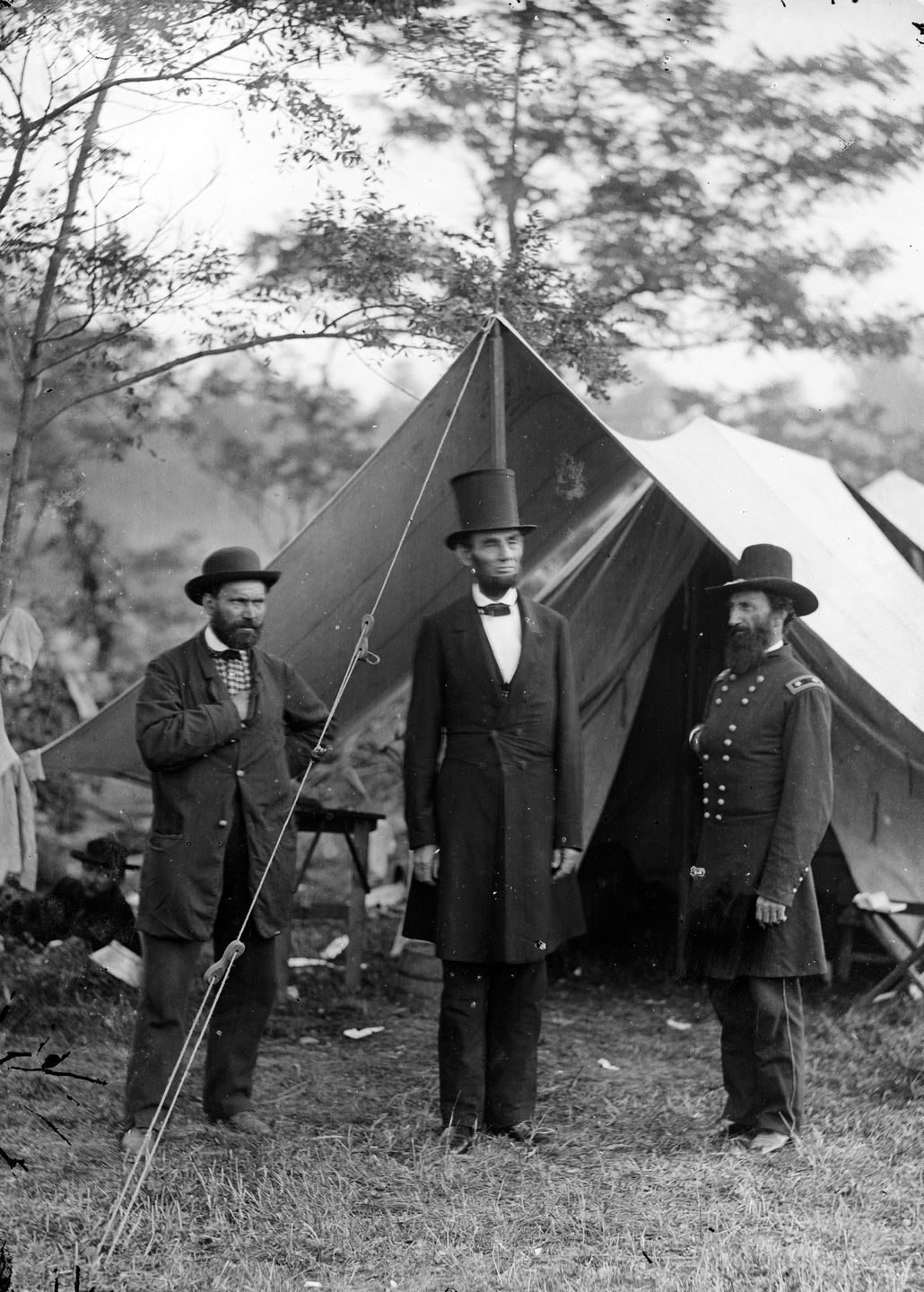 a possible source for watch night President Lincoln near the end of the Civil War