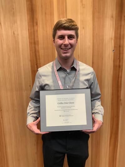 Griffin Glenn named 'Graduate of Distinction'