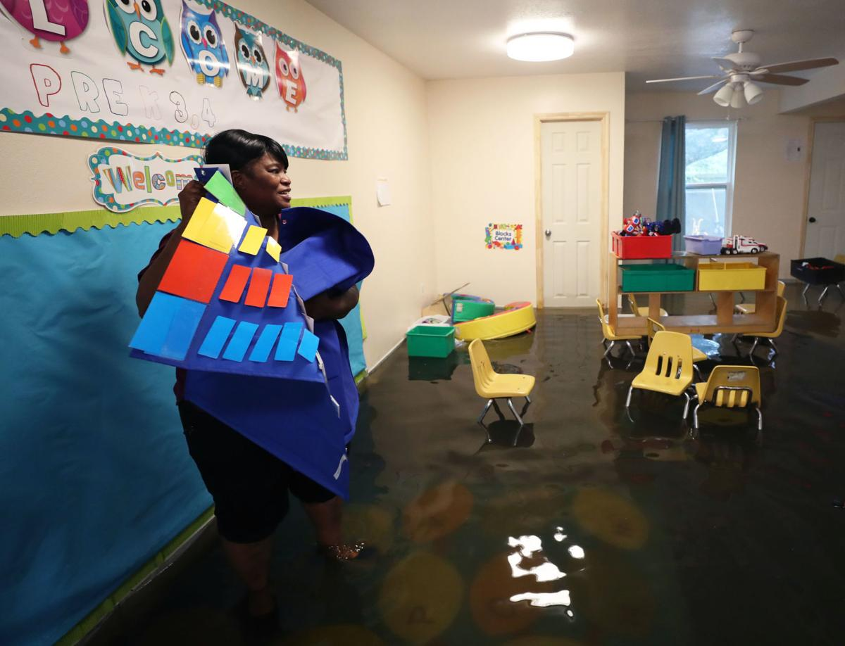 Dickinson daycare flood