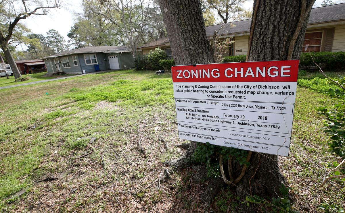 Dickinson zoning change gobbles up residential neighborhood