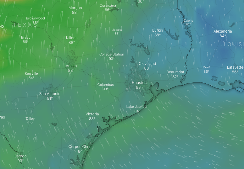 Brisk winds likely this weekend as typical early summer pattern develops