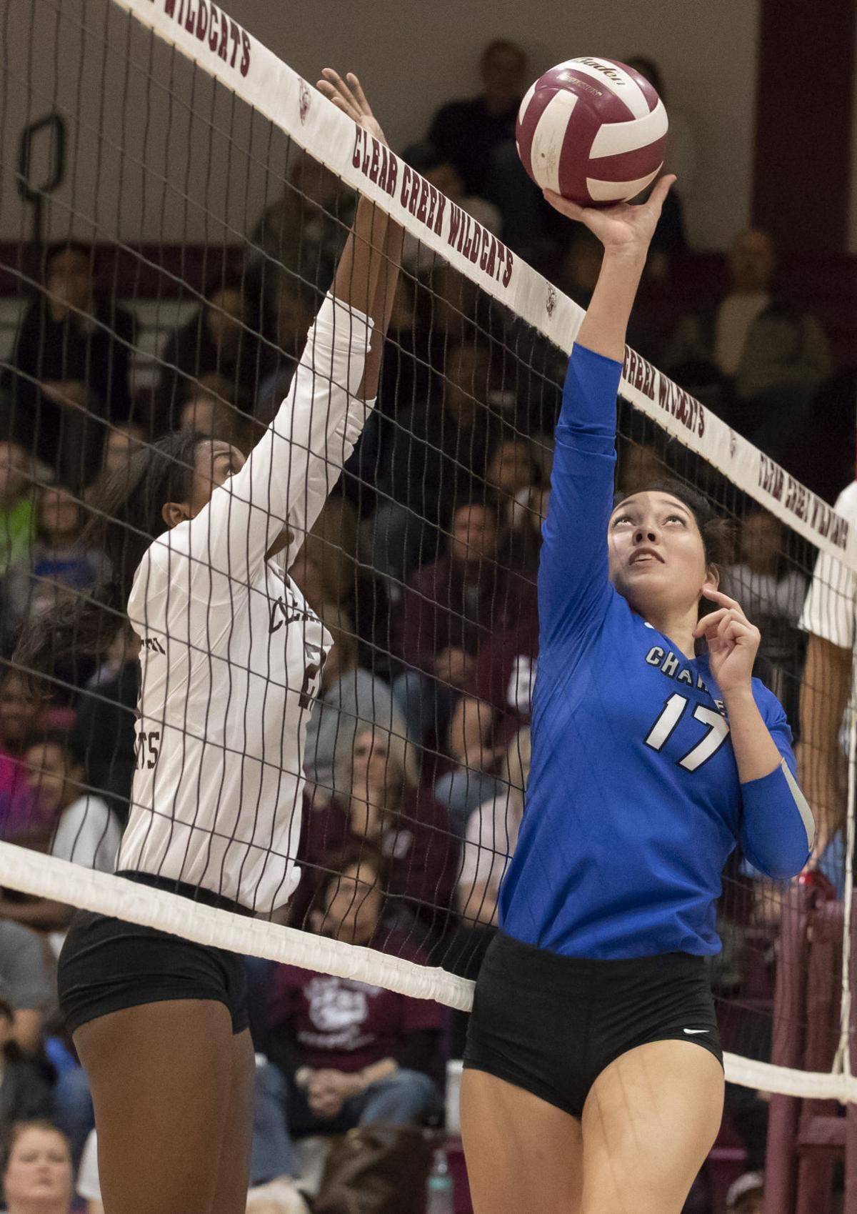 Clear Creek vs Clear Springs Volleyball