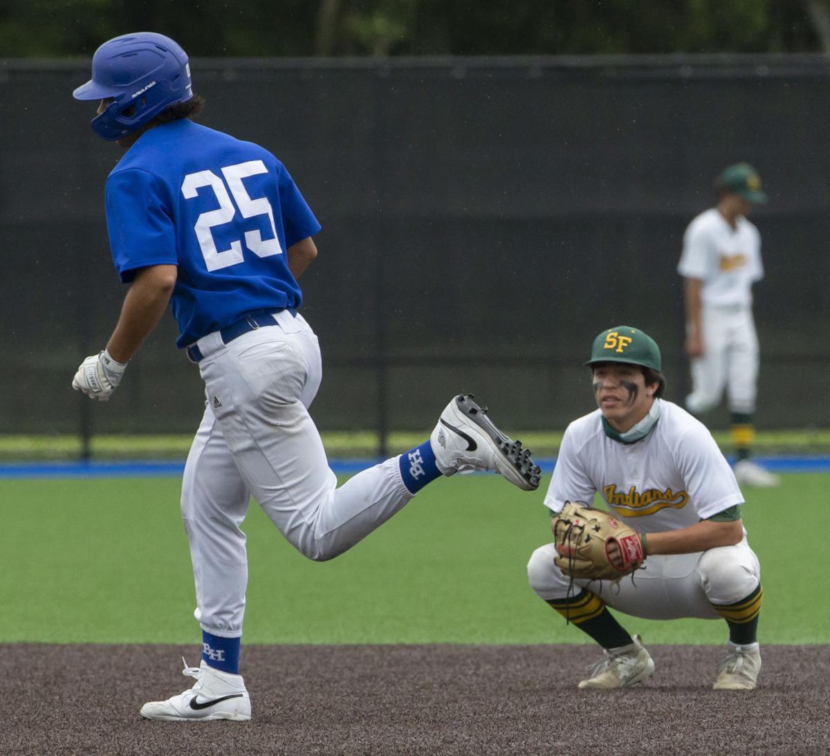 Santa Fe vs Barbers Hill Playoff Baseball