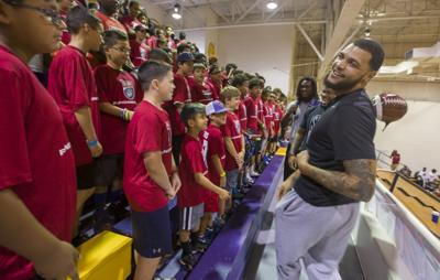 Mike Evans Free Football Camp
