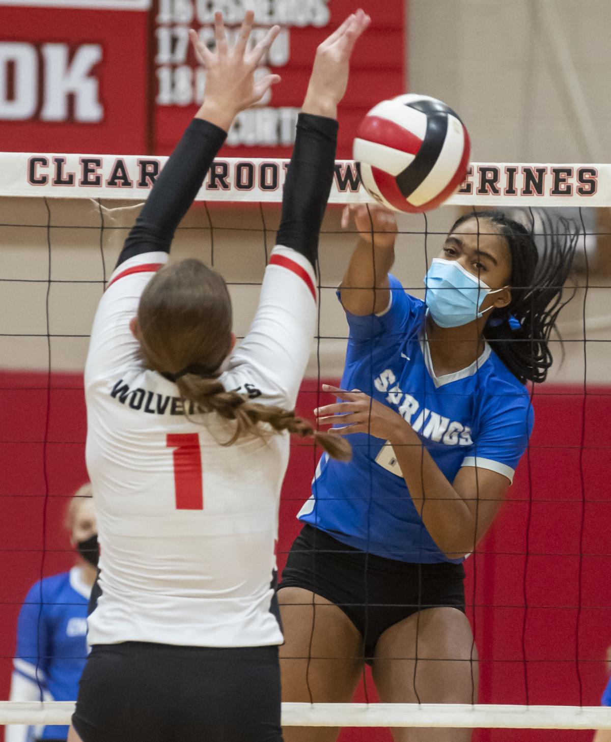 Clear Brook vs Clear Springs Volleyball