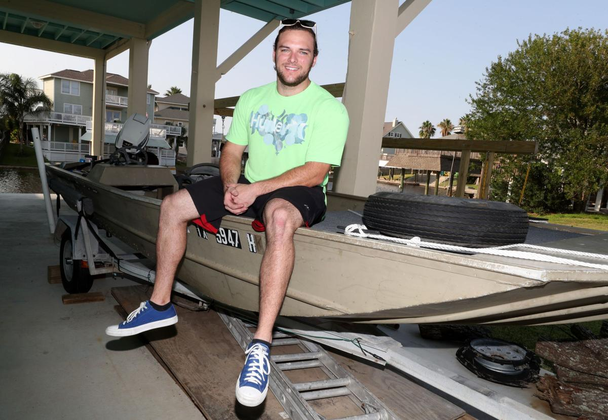 League City man uses boat, kayaks to help during flooding