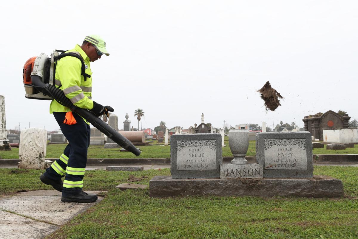 Cemetery crew