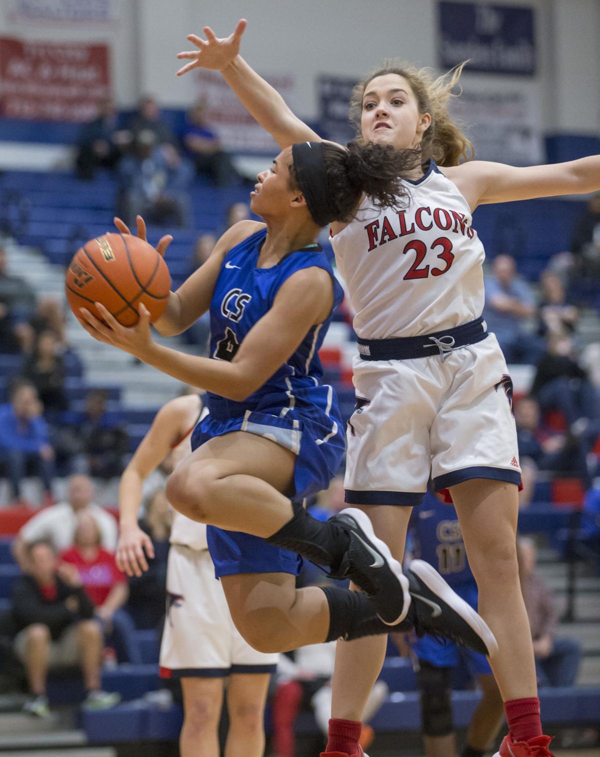 Clear Springs vs Clear Lake Girls Basketball