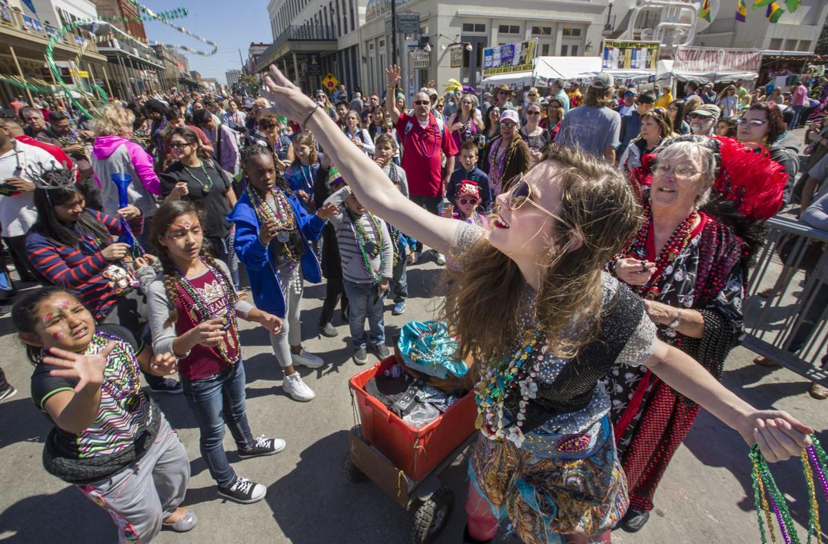 2017 Galveston Mardi Gras Second Saturday