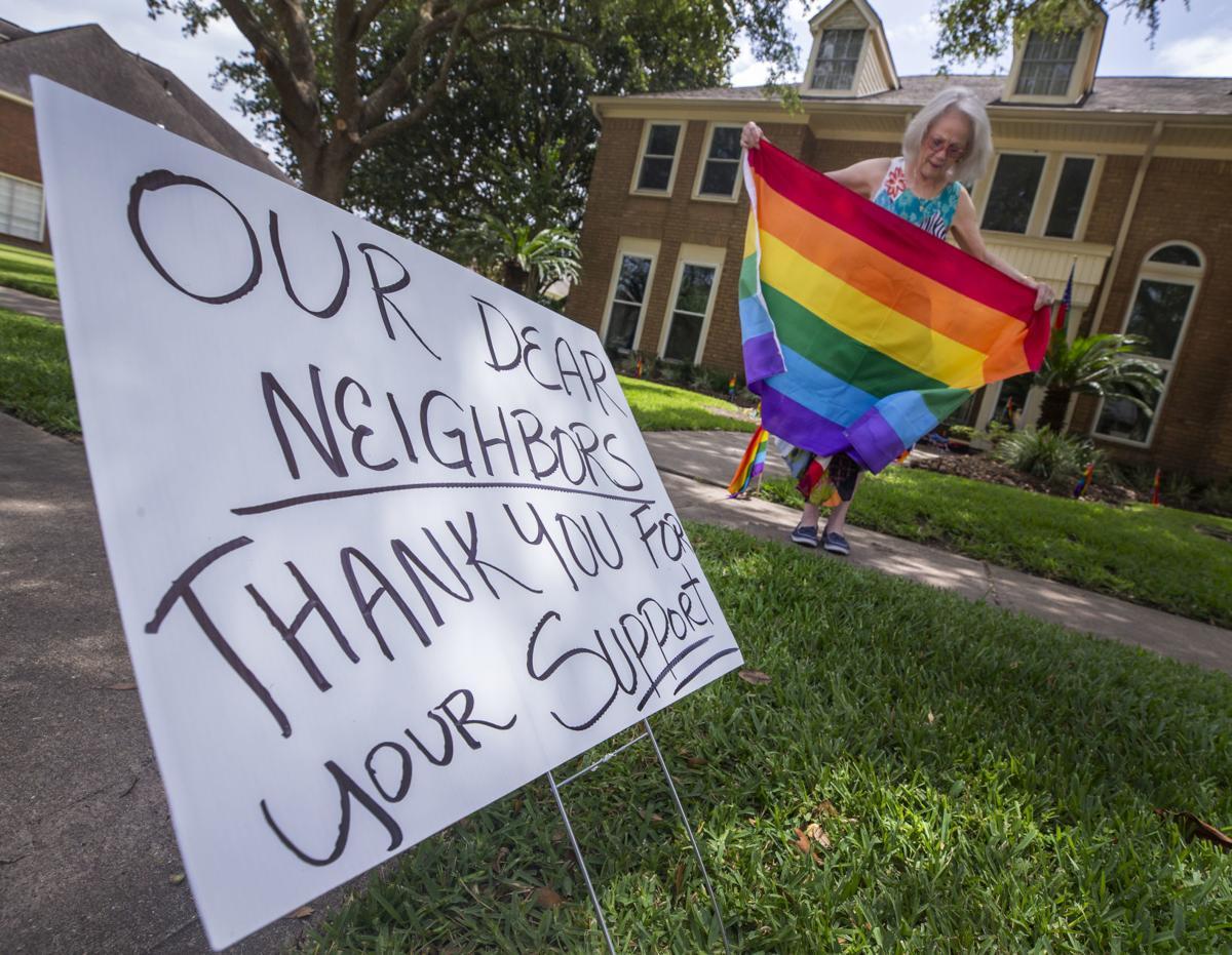 Pride Flag Stolen