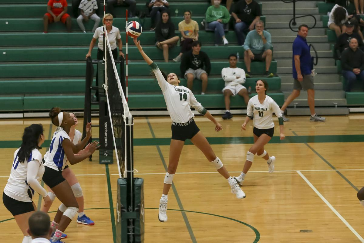 Clear Falls vs. Dickinson volleyball